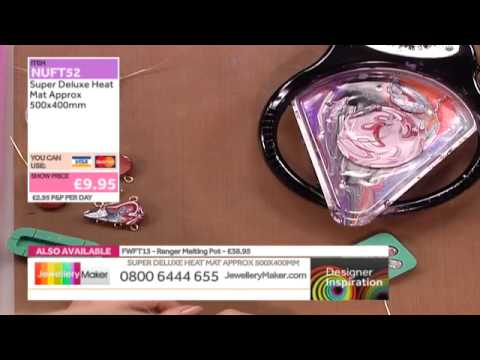 [How to make Jewel Enamel Jewellery] - JewelleryMaker DI 11/4/14