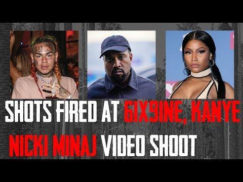 shots fired at Kanye West, 6ix9ine & Nicki Minaj Music Video [MyMixtapez News] Mp3