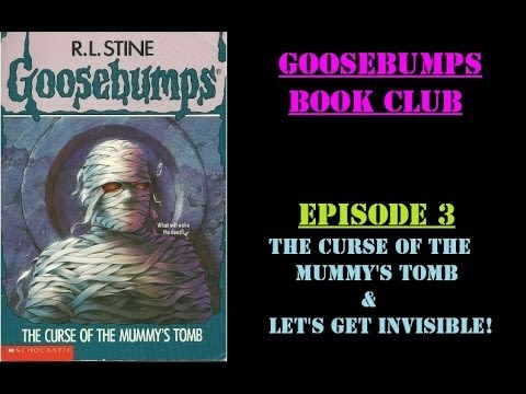 goosebumps the curse of the mummys tomb book report Embed (for wordpresscom hosted blogs and archiveorg item  tags).