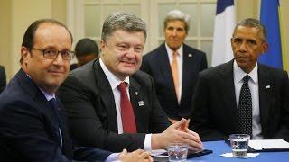 Саммит НАТО, Расмуссен, Порошенко и Обама (Summit NATO)
