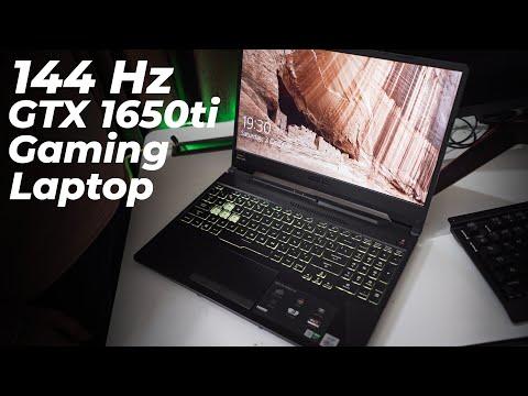 Asus Tuf f15 Gaming Laptop 144Hz/1650ti Review 2020 India