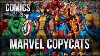 Top Marvel Comics copycats from DC Comics