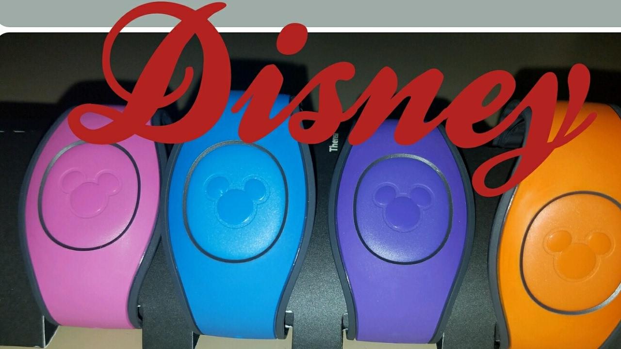 Disney Magic Band 2.0 unboxing - YouTube