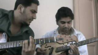 jadoo teri nazar on guitar