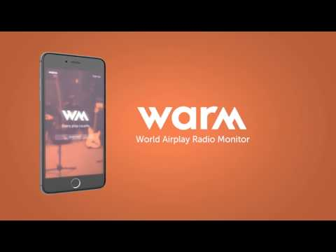 WARM - World Airplay Radio Monitor
