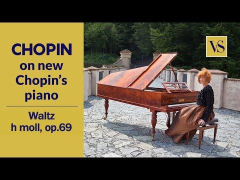Fortepiano F. Chopin, Waltz No.10 in B minor, Op.69, No.2.