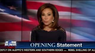 Judge Jeanine Pirro EXPLOSIVE Opening Statement James Comey New FBI Hillary Clinton Email Probe
