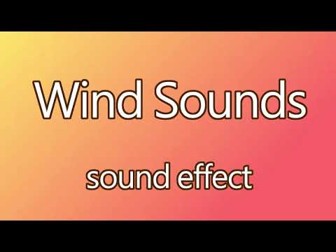 Free Wind Sounds Sound Effects 《HIGH QUALITY 》 │SOUND EFFECT │FREE DOWNLOAD