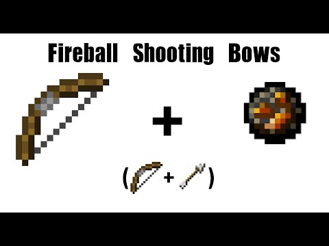 how to make a stick that shoots fireballs in minecraft
