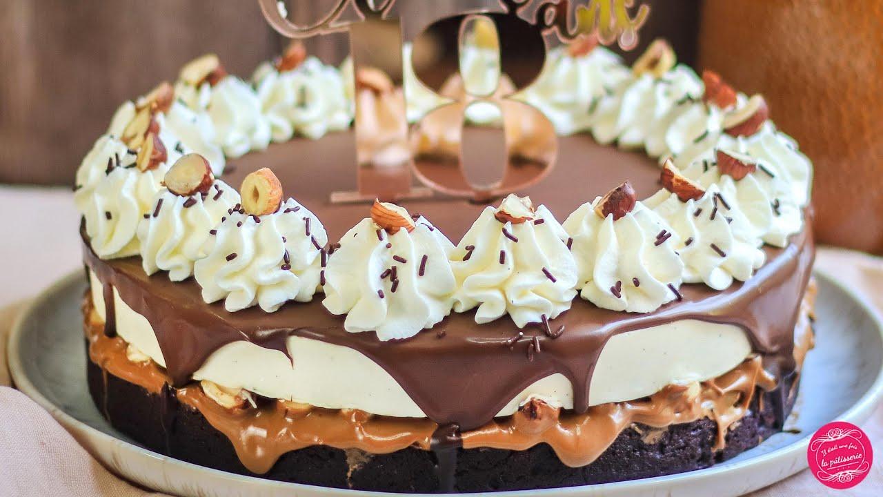 Le BROWNILLE : un gâteau mi-brownie, mi-entremets vanille juste DINGUE !