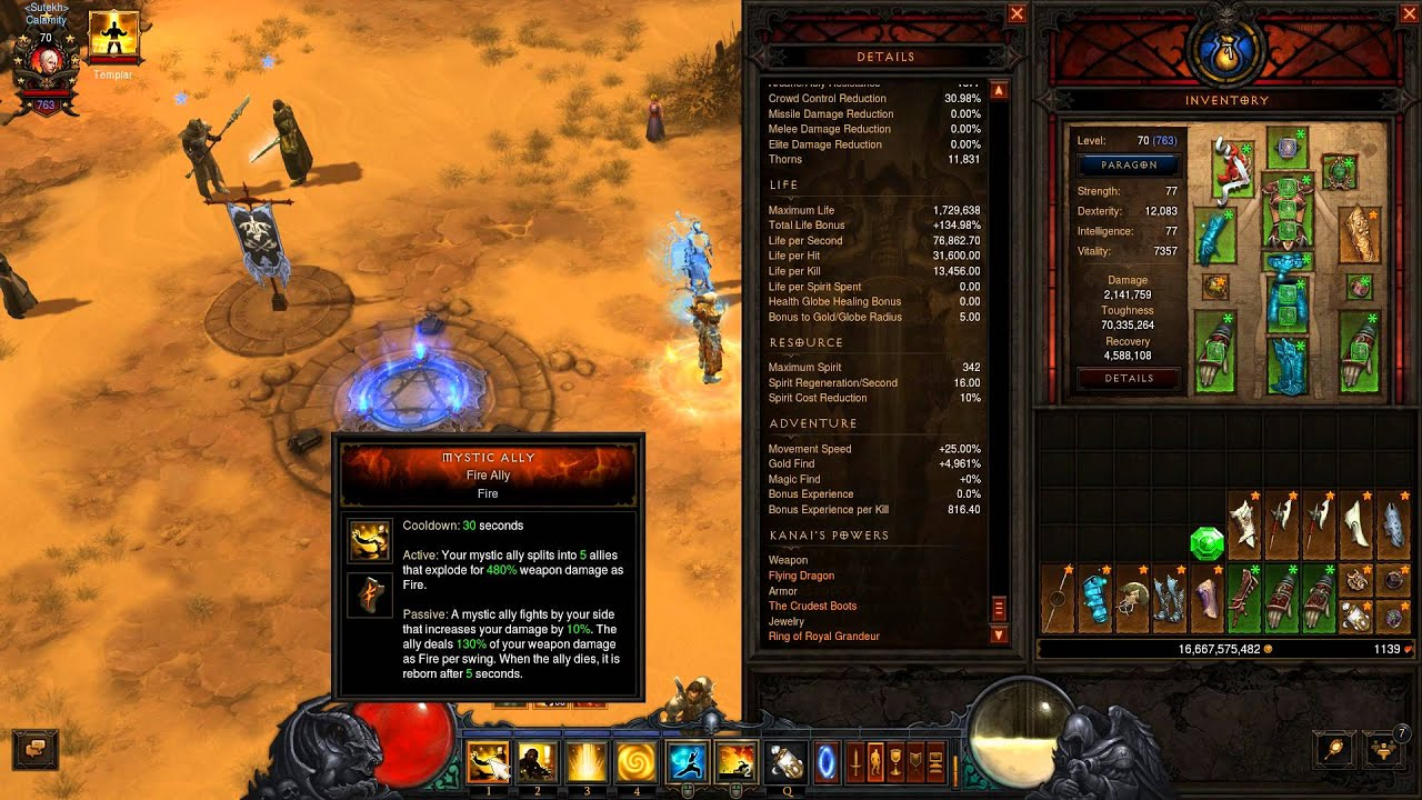 Diablo  S Monk Build