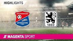 SpVgg Unterhaching - 1860 München | Spieltag 17, 19/20 | MAGENTA SPORT