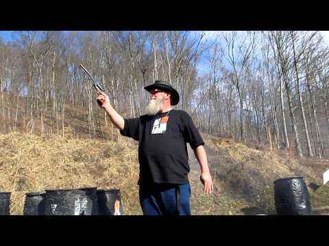 Firing the .44 Colt Walker Replica Revolver