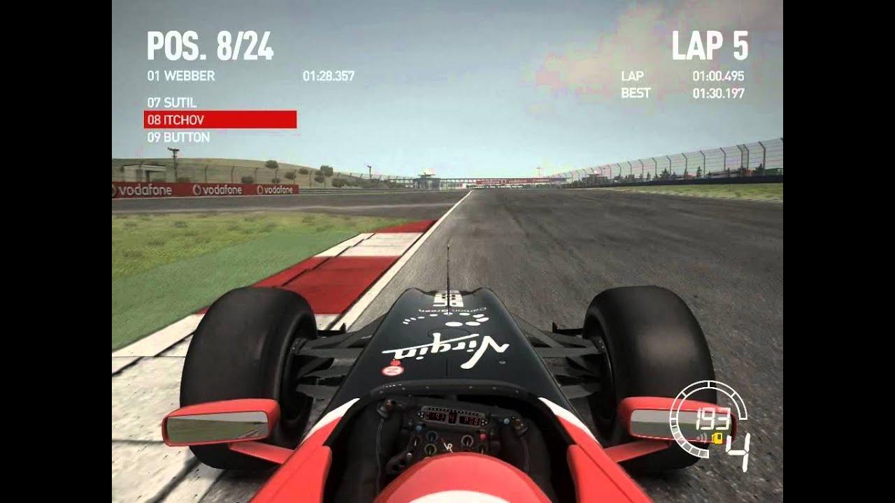 Download F1 2010 - Onboard Lap of Turkey in the Virgin