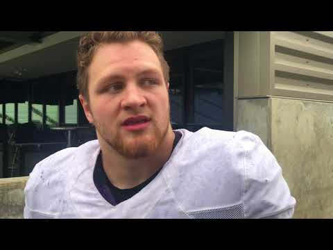 Ryan Bowman Interview - Spring Football Practice Day 5