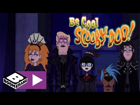 Be Cool, Scooby-Doo! | The Goth Scooby Gang And The Plant Monster | Boomerang UK