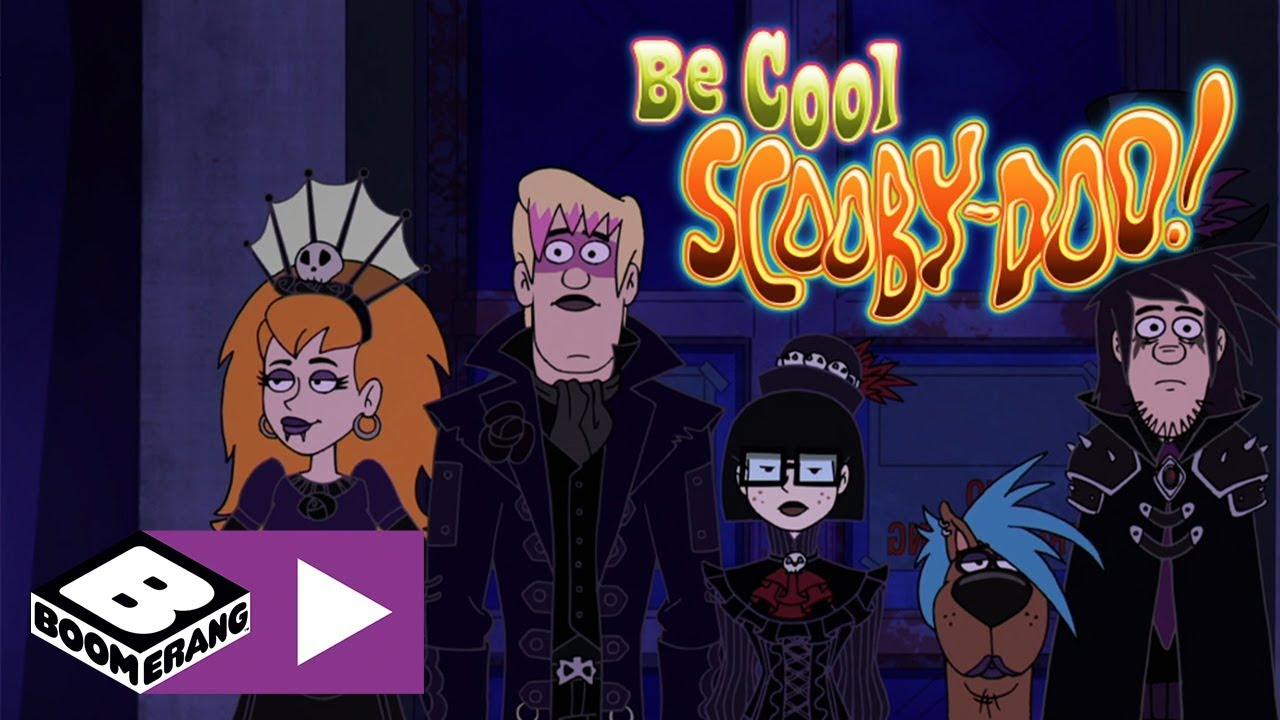 Be Cool Scooby Doo The Goth Scooby Gang And The Plant Monster Boomerang Uk Youtube