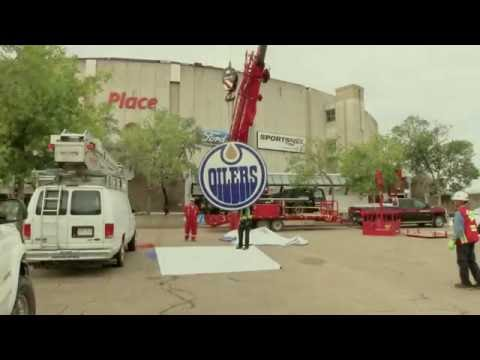 Farewell Rexall Place - Media Resources helps make history