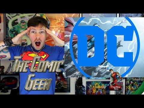 DC Universe: Rebirth #1 - Review Spoilers - DC Comics Universe Origin