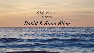Wedding day - David and Anna Allen