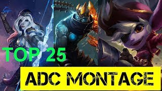 Top 25 ADC Champion Plays #4 - LoL Epic ADC Outplays S7