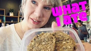 What I Ate In A Day Going With The Flow Vlog