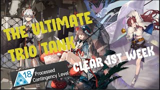 [Arknights] C.C Beta: Area 59 Ruins (1st Week) Risk 18 Clear And Why Your FEater May Fail