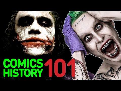The Joker - Comics History 101