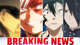 My Hero Academia Creator Apologizes, Great Black Clover News, New Jujutsu Kaisen Teaser & Boruto 157