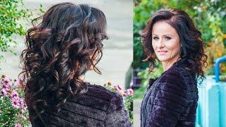 ОБЪЕМНЫЕ ЛОКОНЫ НА ТОНКИЕ ВОЛОСЫ. | Volume curls on fine hair | LOZNITSA