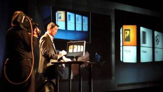 Keynote presentation: Motorola launches Atrix 4G at CES 2011