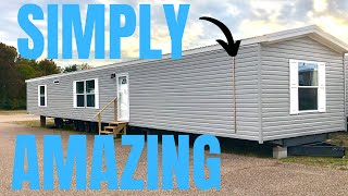 Amazing how far single wide mobile homes have come! Mobile Home Tour that shows all. Video