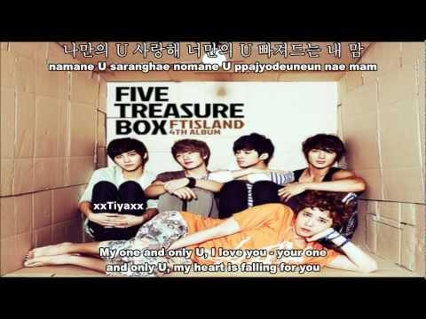 FT Island - U (All i want is you) [English Sub+Romanization+Hangul]