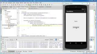 Android App Development for Beginners - 19 - Event Listener and Callback Method