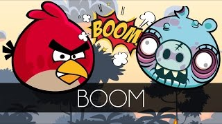 Bad Piggies - BOOM (Mini Bad Piggies Games) vs. Angry Birds