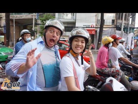 Saigon day tour on motorbikes