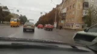 Колона таксистов  Кривой Рог 26.09.2016