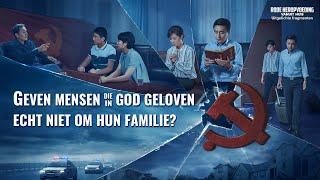 Geven mensen die in God geloven echt niet om hun familie?