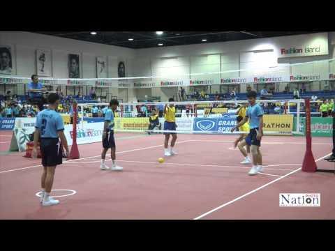 การแข่งขันตะกร้อชิงชนะเลิศแห่งประเทศไทย  18-02-2015