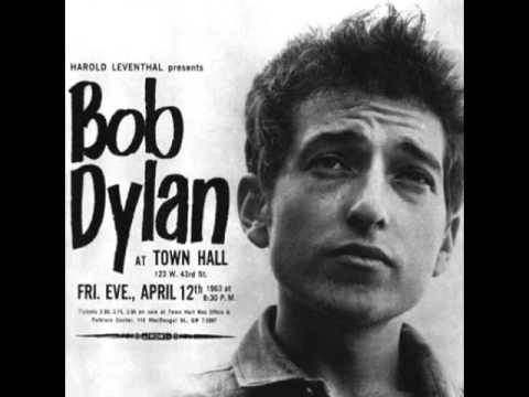 Bob Dylan Boots Of Spanish Leather From Live At Town Hall Apr 12