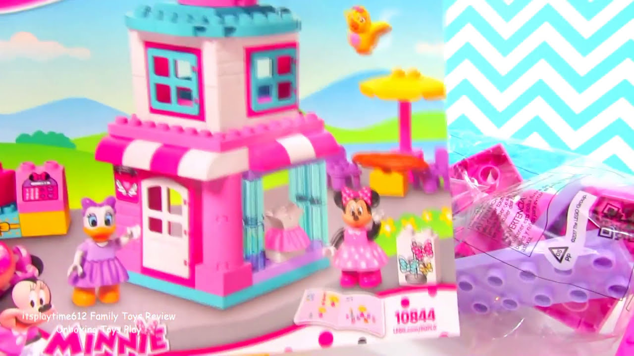 Lego Duplo Minnie Mouse Bow Tique Learning Colors Disney Junior
