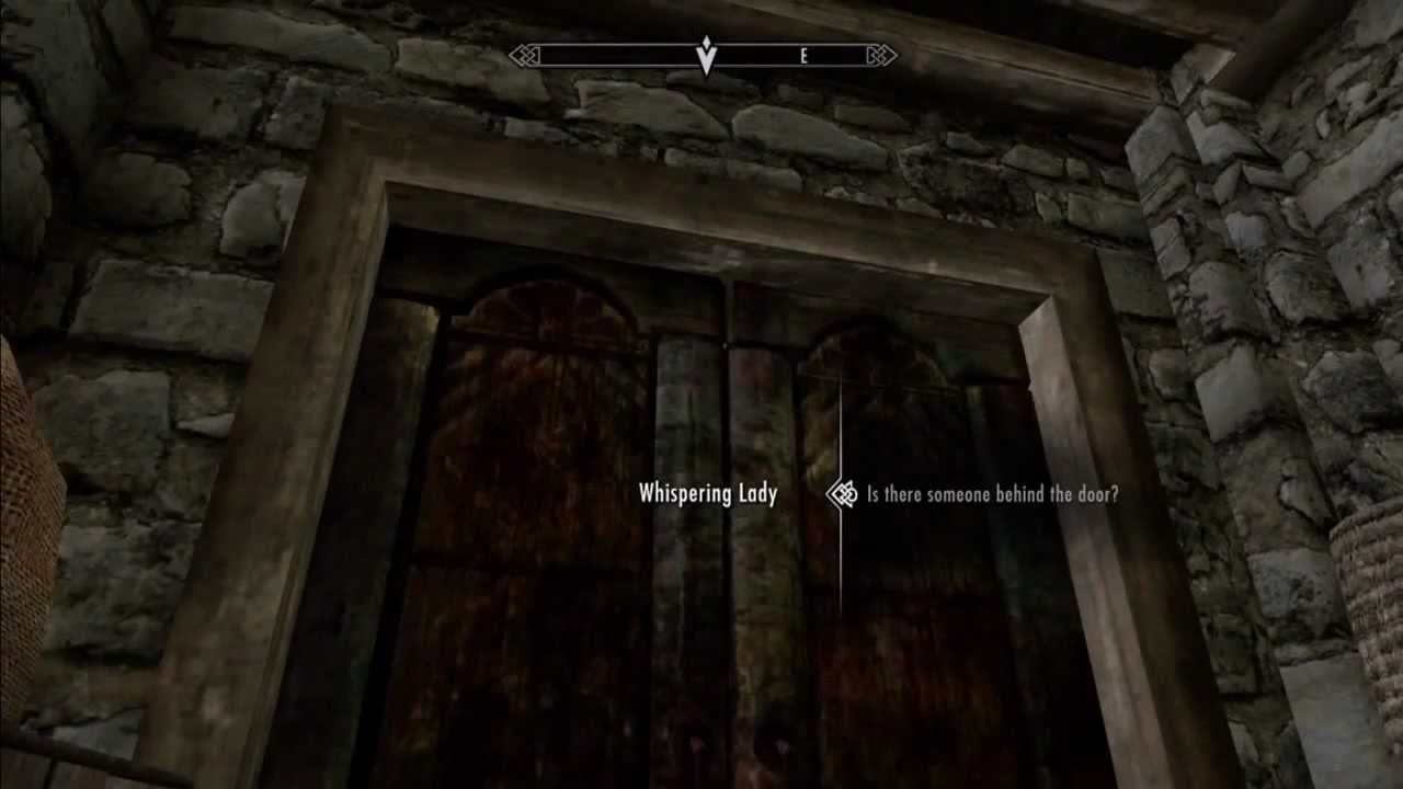 Image result for skyrim whispering door