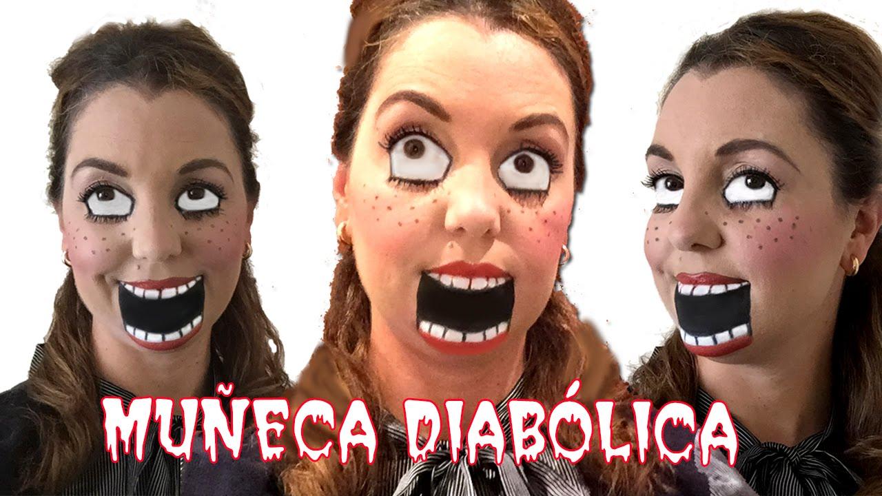 Videos De Maquillaje De Halloween.Maquillaje De Halloween De Muneca Diabolica