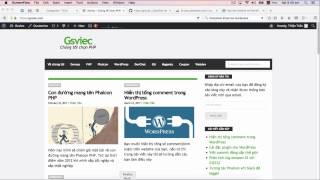 Khóa Học  WordPress Căn Bản