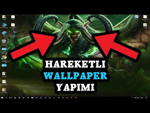 HAREKETLİ DUVAR KAGIDI NASIL YAPILIR (WALLPAPER ENGİNE) STEAM