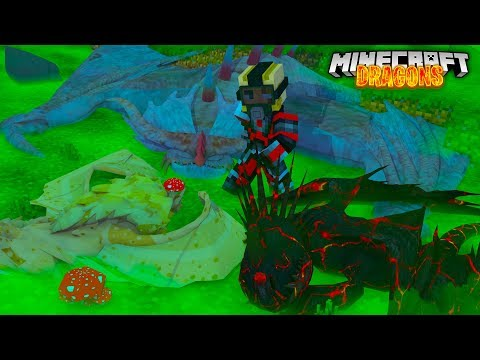 Minecraft DRAGONS - THE FIRE NATION GENERAL IS KILLING DRAGONS!!