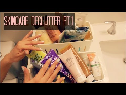Skincare Declutter Pt.1 - Face Masks and Body Care!