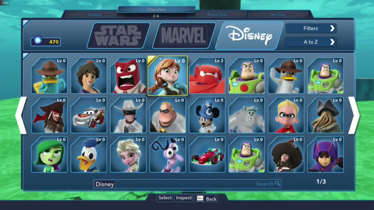 Disney Infinity 30 Gold Edition All Characters Content Review