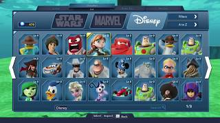 Disney Infinity 3.0 Gold Edition All Characters, Content Review