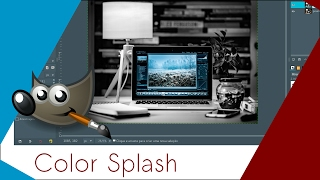 Criando o Efeito Color Splash no Gimp